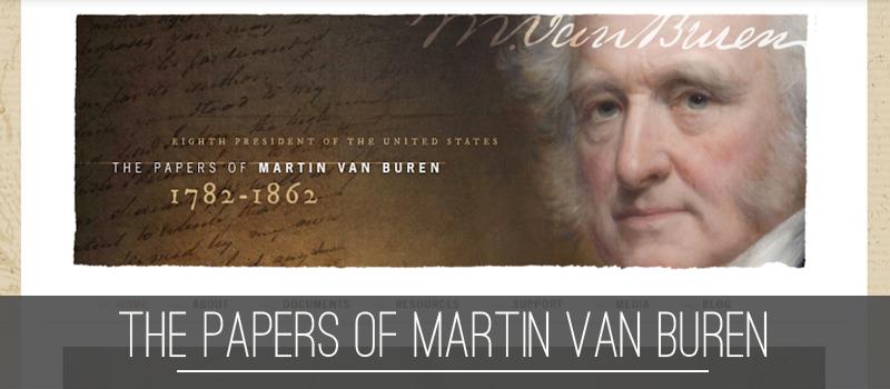 Papers of Martin Van Buren